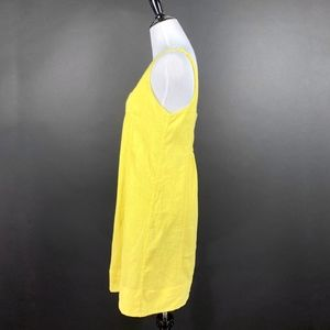 Anthropologie Dresses - Maeve Anthropologie Tank Mini Dress A-Line Yellow